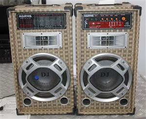 2 HARWA SPEAKERS S03