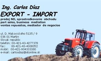 Zetor & Zahow Tractor Parts