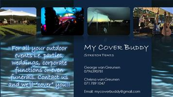 Stretch Tent for Hire.