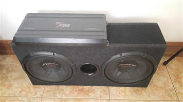 Pioneer champion series 1400w x2 with box