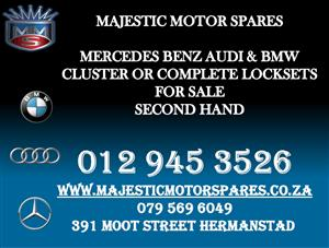 MERCEDES BENZ AUDI BMW CLUSTERS FOR SALE