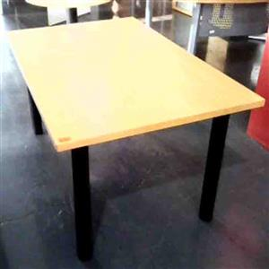 6 Seter boardroom table veneer
