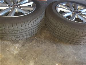 "14"" Inch OEM Polo Vivo Rims with Tyres for sale"