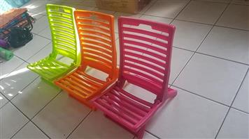 Kiddies camping chairs for sale