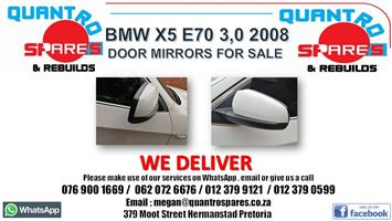 BMW x5 E70 3.0D 2009 door mirrors for sale