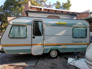 Caravette 6 caravan for sale. 1988