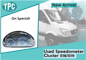 Mercedes Benz Sprinter 518/519 Used Speedometer Cluster for sale at TPC