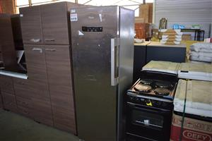 Silver 1 door fridge for sale