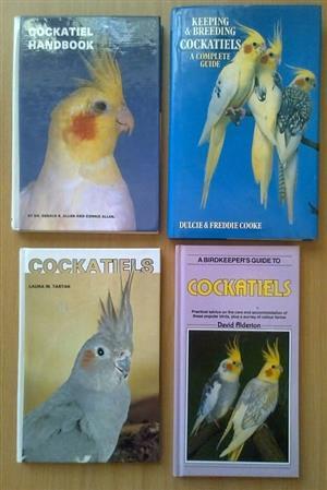 4 Cockatiel books. R250 for the lot.