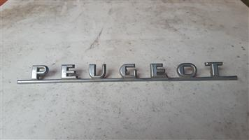 Peugeot car badge script