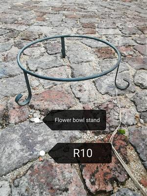 Flower bowl stand for sale