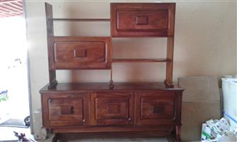 SIDEBOARD , SOLID WOOD,   MUST GO THIS WEEK.  (BREDELL)