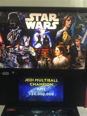 Star Wars Pro Pinball Machine by Stern