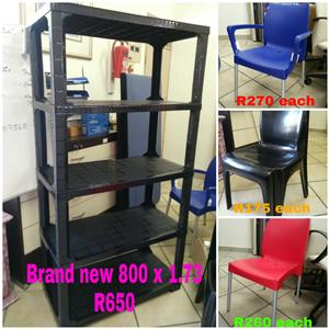 Canteen Chairs several colours UV protect & 1 year