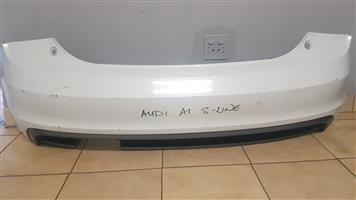 AUDI A1 S-LINE REAR BUMPER FOR SALE