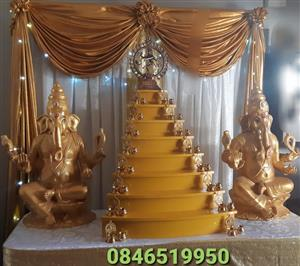 16 Day Ceremony Lamps and Stand for Hire