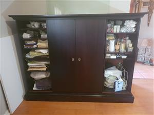 tv cabinet with side storage