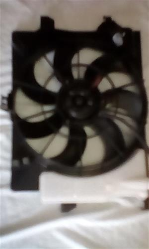 kia rio fan assembly