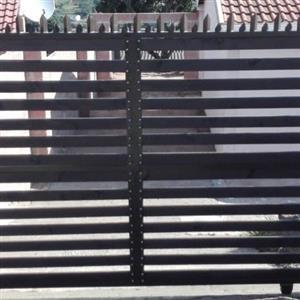 bargain nutec wood finish gates