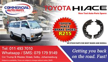 Brake Shoes For Toyota Hiace For Sale.