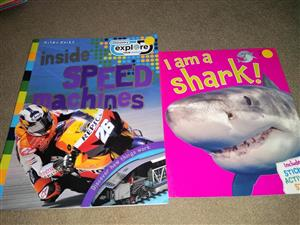 Inside speed machines and i am a shark books