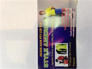 soccer kit complete