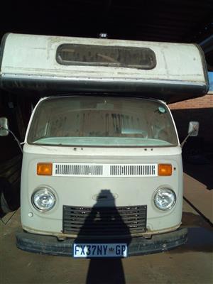 1973  Volkswagen Jurgens Autovilla Camper