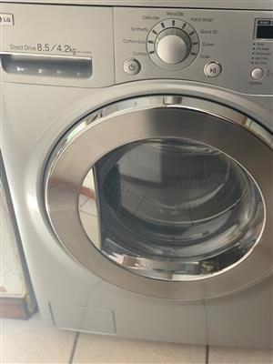 Direct Drive LG washing machine and dryer- front loader
