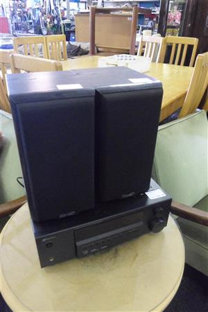5.1 Channel Sansui Amplifier + 2 Mission Speakers