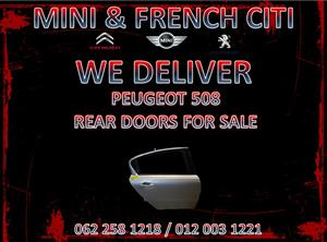 PEUGEOT 508 REAR DOORS FOR SALE