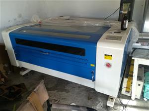 G. Weike Storm C02 laser cutter 900mm x 1200mm for sale