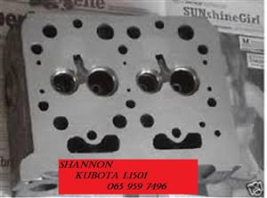 KUBOTA L1501 BARE CYLINDER HEADS IN STOCK