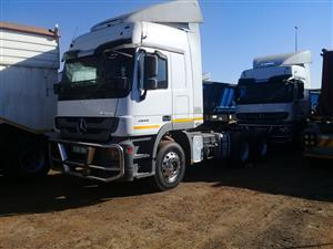 18 x Mercedes Benz Truck tractors. You will be glad you invested.
