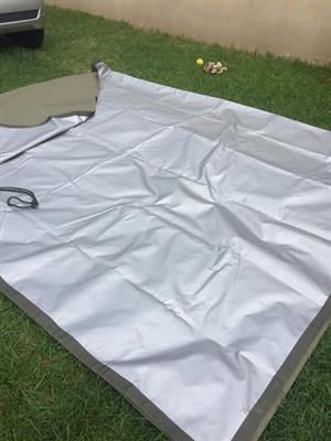 Reflective sheet for tent