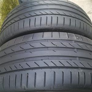 fairly used tyres still in good conditions no damages no repairs