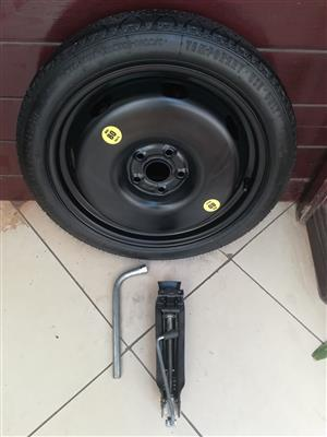 Ford Mustang 5.0 and 2.3 EcoBoost 18 inch Space Saver Spare Wheel kit R6500