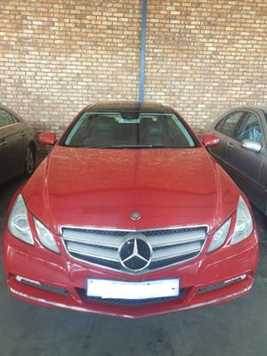 Mercedes Benz W207 E500 coupe now stripping for spares