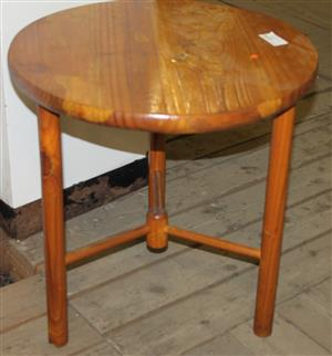 Brown round table S031175A #Rosettenvillepawnshop