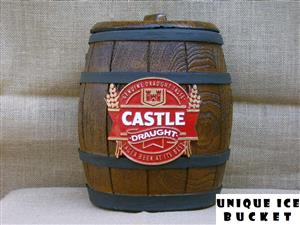 Ice Bucket: Castle Draught Beer. Brand New Products.