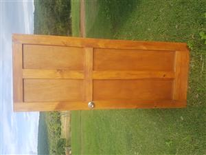 Wooden Doors, Pine used Quantity  four.