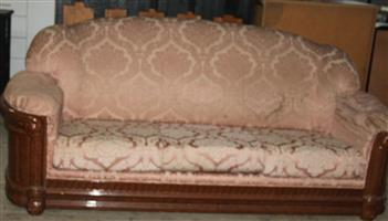 3 seater couch S031471B #Rosettenvillepawnshop