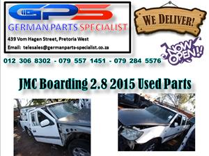 JMC Boarding 2.8 2015 Used Parts for Sale