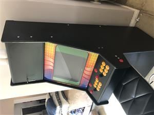 Arcade Machine with Selected Gamed