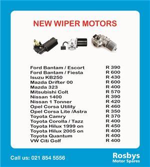 Wiper Motors New (very good price)