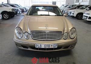 2004 Mercedes Benz E-Class sedan E 350d AVANTGARDE