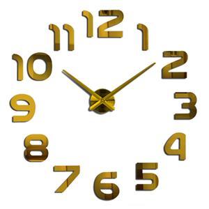 Modern DIY Large 3D Wall Clock (Home Decor)