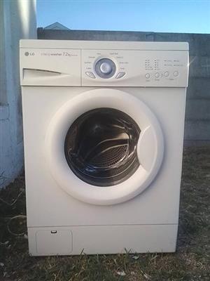 LG washing machine 7.2kg