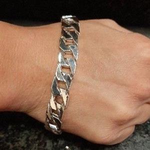 925 Sterling silver mens bracelet