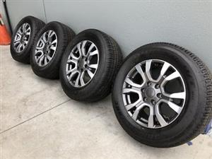 2018 Ford Wildtrak Tyres and Rims