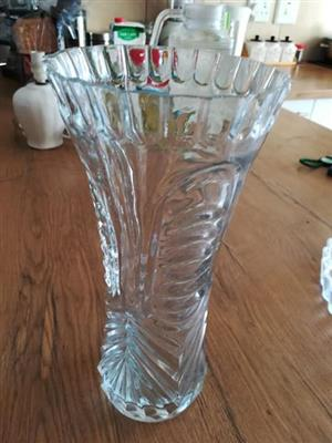 Glass vase for sale